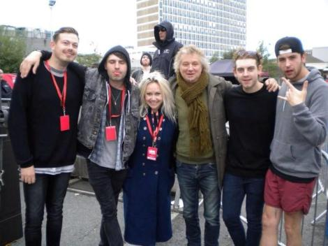 With Jo Jefferies of Planet Rock and Lower Than Atlantis