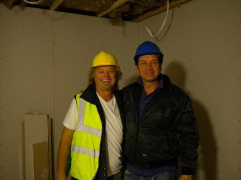 With Nick Knowles on BBC, DIY SOS