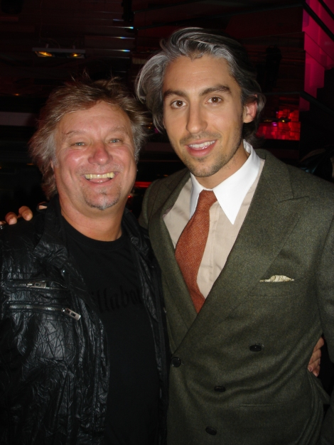 with George Lamb