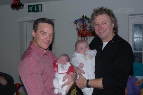 with Stefan Dennis