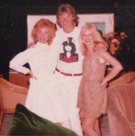 Barry with Lulu and Edwina