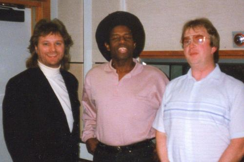 Barry with Eddy Grant and Dj Mike Breeze
