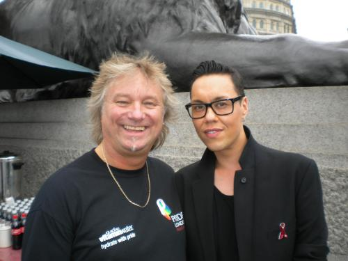 Barry with Gok
