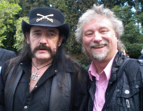 Barry with Lemmy