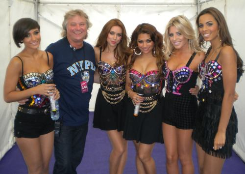 Barry with The Saturdays