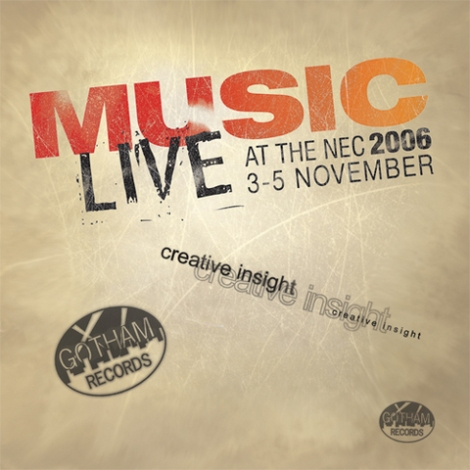 Music Live 2006 Cd Front