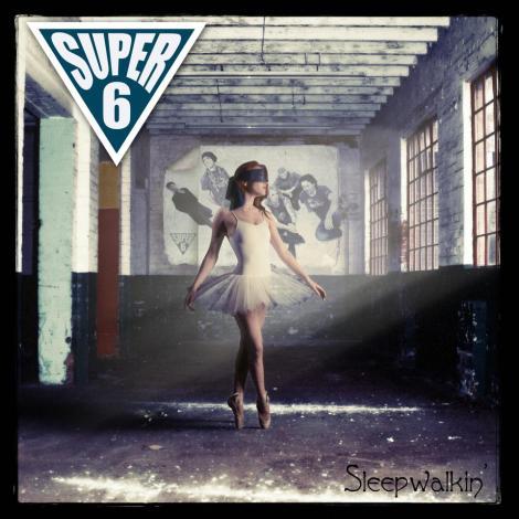 Super6 Sleepwalking cd front